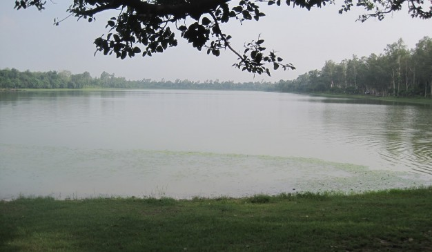 image of Ramsagar lake and Ramsagar National Park