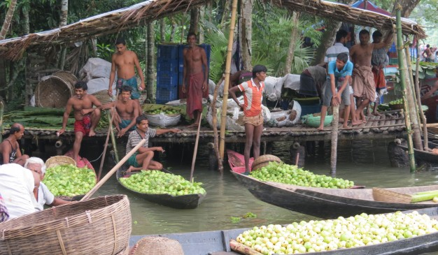 Floating Markets in Barisal